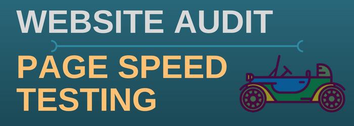 DIY Website Audit Checklist – Page Speed Test