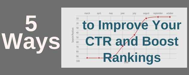 5 Ways to Improve Your CTR and Boost Rankings