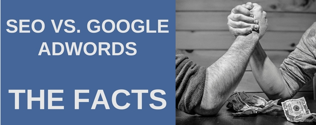 Which is Better. SEO vs Google Adwords – The Facts